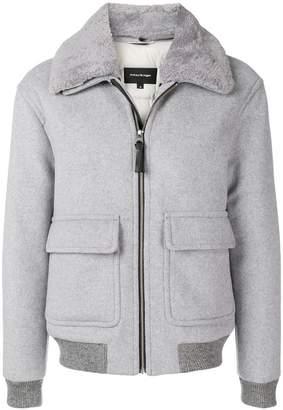 Mackage front zipped bomber jacket
