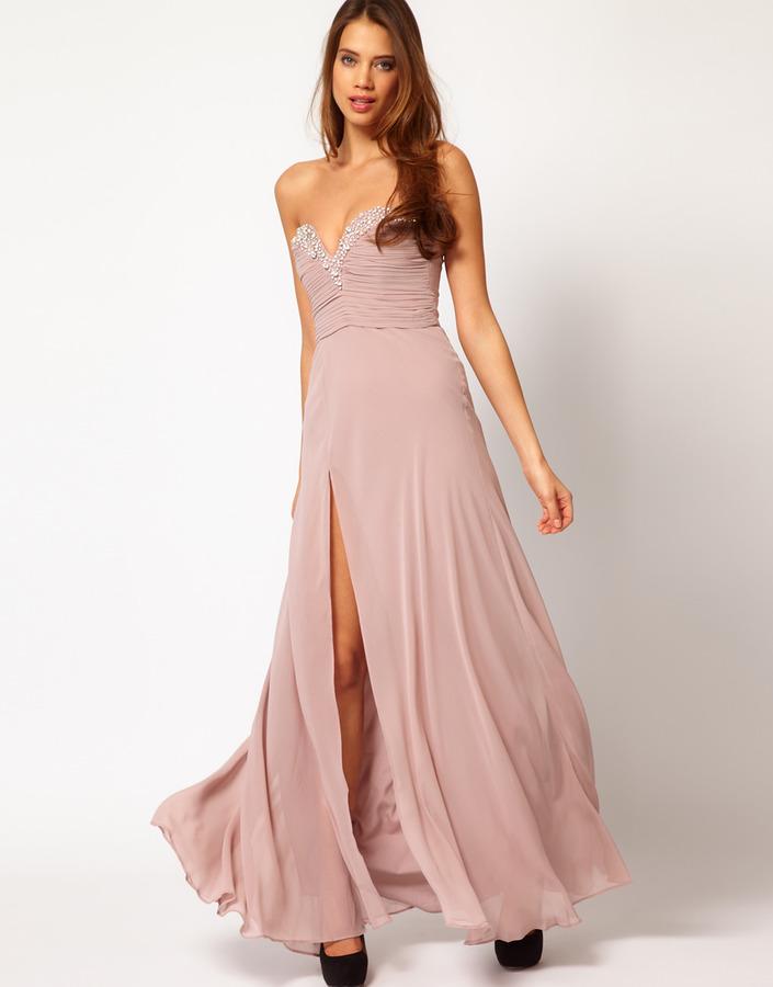 Lipsy VIP Thigh Split Maxi Dress