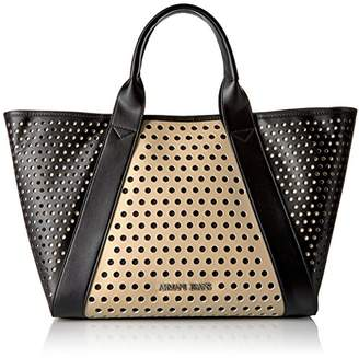 Armani Jeans Perforated Tote