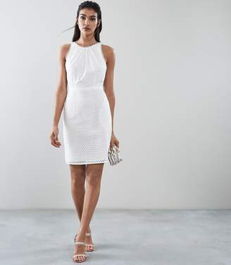 Reiss Lydia Broderie Summer Dress