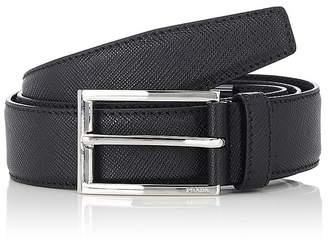 Prada Men's Saffiano Leather Belt