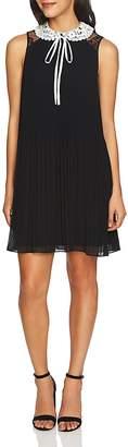 Cynthia Steffe CeCe by Scarlett Contrast-Collar Dress