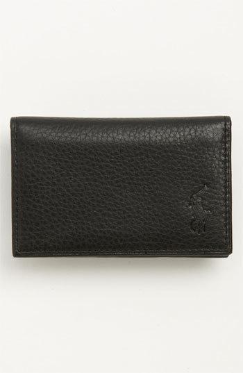 Polo Ralph LaurenMen's Polo Ralph Lauren Slim Card Case - Black
