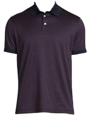 Salvatore Ferragamo Printed Cotton Polo