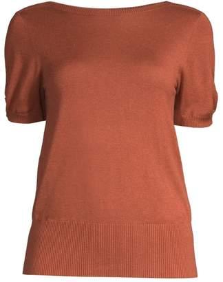Max Mara Osteo Silk & Cashmere Sweater