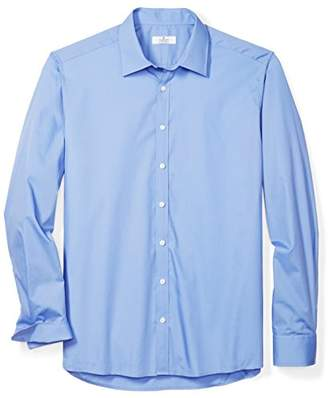 Clifton Heritage Men's Big&Tall Classic Fit Long-Sleeve Spread Collar Dress Shirt LT