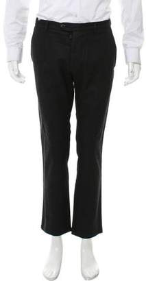 Wings + Horns Flat Front Wool Pants