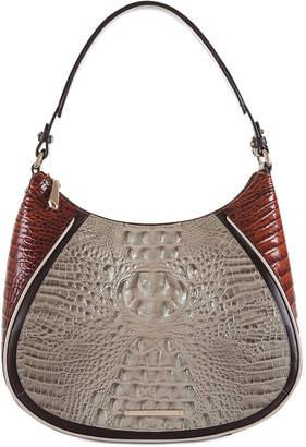 Brahmin Amira Embossed Leather Hobo