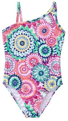 Gymboree Geo Flower 1-Piece Swimsuit