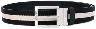 Bally contrast panel belt
