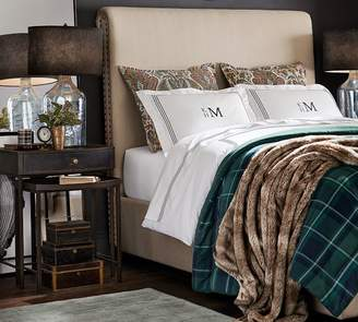 Pottery Barn Chesterfield Non-Tufted Upholstered Bed