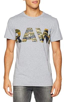 G Star G-Star Men's Tahire R T S/S T - Shirt (Grey Heather)