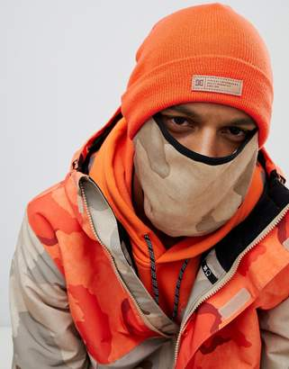 DC Variable Beanie and Snow Mask in Orange