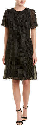 Matty M Polka Dot A-Line Dress