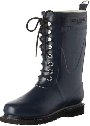 Ilse Jacobsen Womens Rub15 India Ink Rubber Boots 40 EU