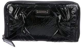 Burberry Patent Leather Wallet