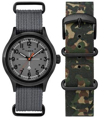 Todd Snyder Timex + The Military Watch in Grey