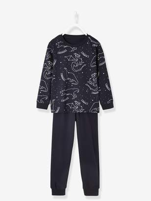 Vertbaudet Glow-in-the-Dark Printed Pyjamas for Boys