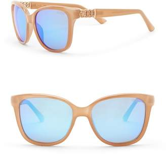 GUESS 56mm Square Sunglasses