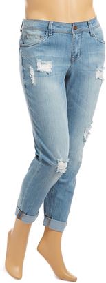 Ipanema Distress Boyfriend Jeans - Plus $46 thestylecure.com