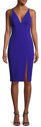 Betsy & Adam Sleeveless Bodycon Sheath Dress