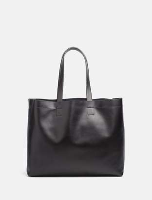 Calvin Klein leather shopper tote bag