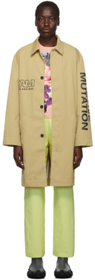 Perks And Mini Beige Executive Trench Coat