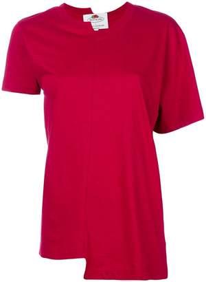 Cédric Charlier asymmetric T-shirt