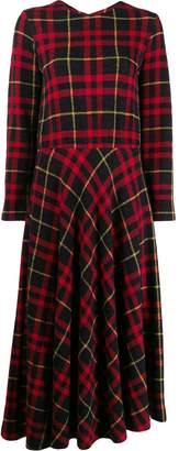 Harris Wharf London tartan dress