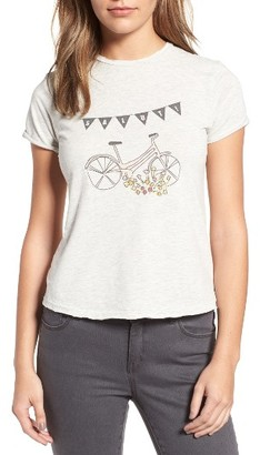 Women's Sincerely Jules Bike Graphic Tee $65 thestylecure.com