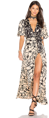House of Harlow x REVOLVE Blaire Maxi $240 thestylecure.com