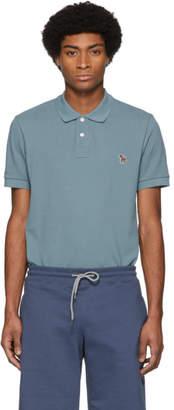 Paul Smith Blue Zebra Slim Polo