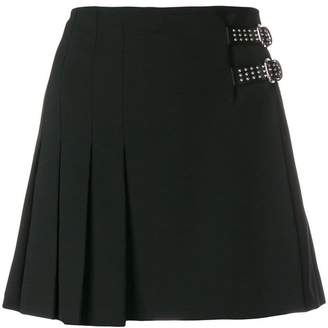 RED Valentino studded buckle skirt