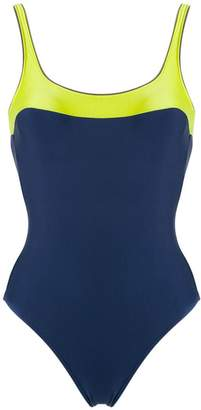 Lygia & Nanny bi-colour swimsuit