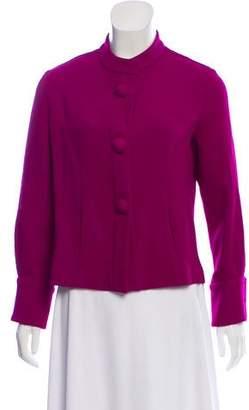 Dovima Paris Wool Mandarin Collar Jacket