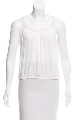 Jean Paul Gaultier Classique Sleeveless Semi Sheer Top