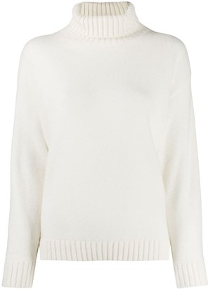 Laneus relaxed-fit turtleneck jumper