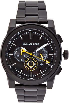 Michael Kors MK8600 Gunmetal Grayson Watch