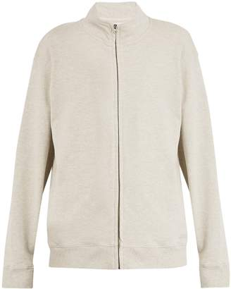 Saturdays NYC Sam zip-through cotton sweatshirt