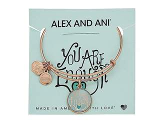 Alex and Ani Words are Powerful - You are Enough Bangle