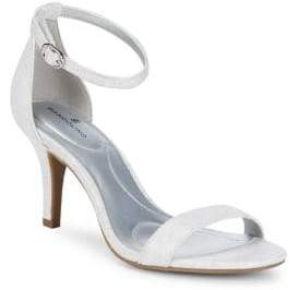 Bandolino Madia Textured Fabric Sandals