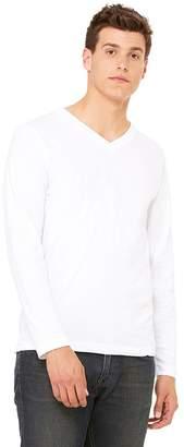 B.ella + Canvas Unisex Jersey Long-Sleeve V-Neck T-Shirt