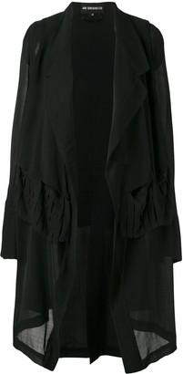 Ann Demeulemeester asymmetric hem jacket