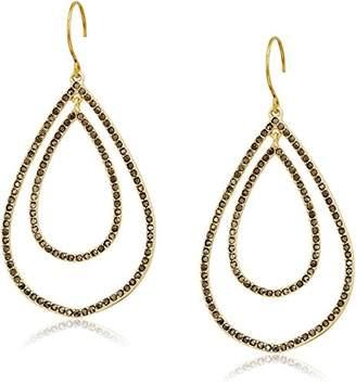 Vera Bradley Whisper Links Double Drop Earrings