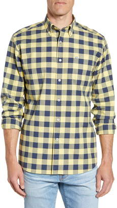 Southern Tide Spray Ave Regular Fit Buffalo Check Button-Down Sport Shirt
