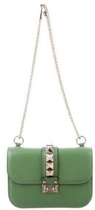 Valentino Rockstud Glam Lock Bag Lime Rockstud Glam Lock Bag