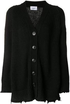 Dondup slouchy longline cardigan