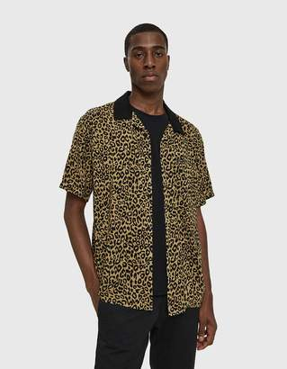 Obey Dirty Leo Woven Button Up Shirt