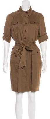 Diane von Furstenberg Casual Button-Up Knee-Length Dress