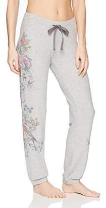 PJ Salvage Women's Floral Bird Jogger Pant